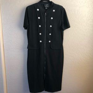 ST JOHN COLLECTION Zip Up Dress